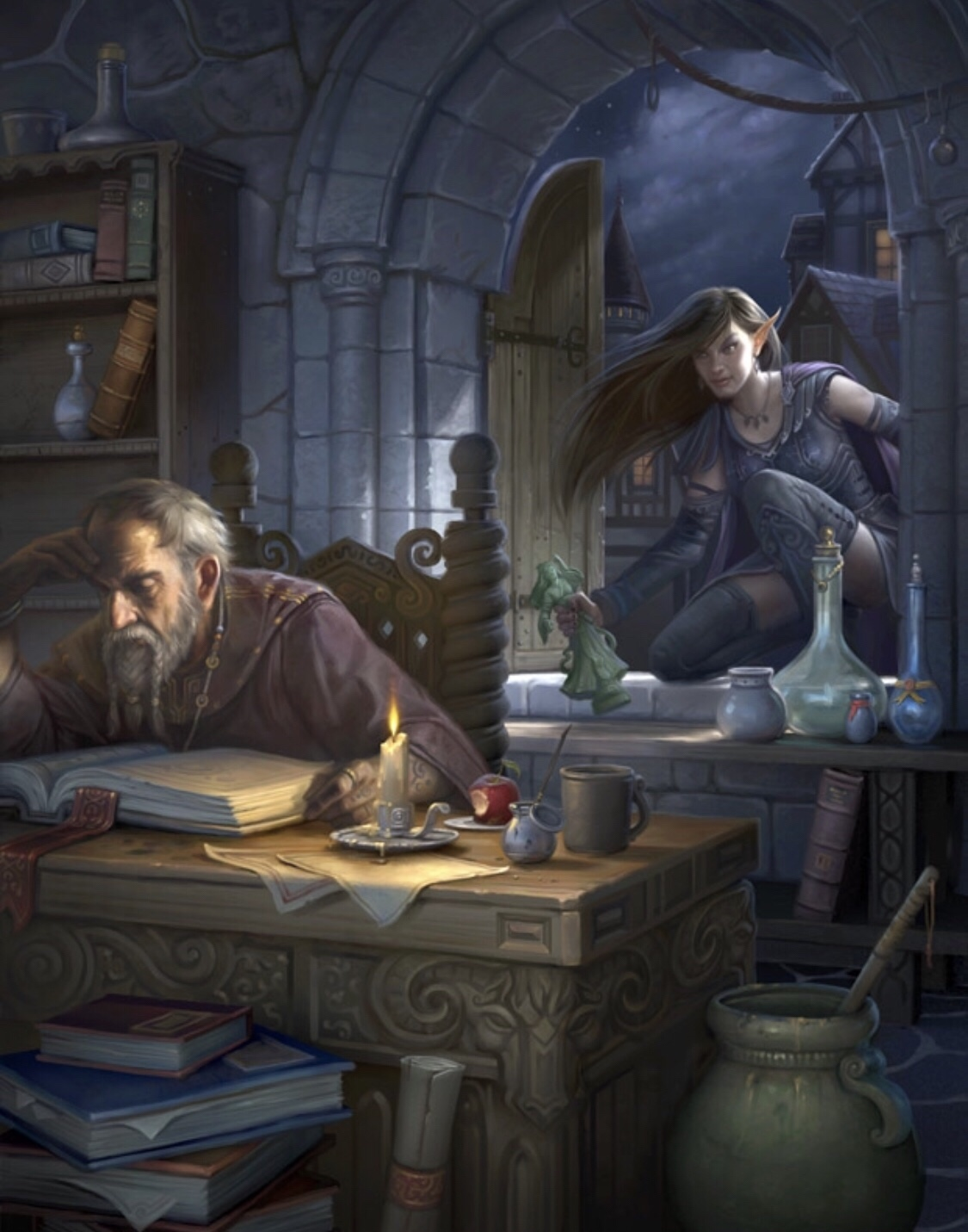 D&D Adventurers League Now Allows Spell Casters to Create
